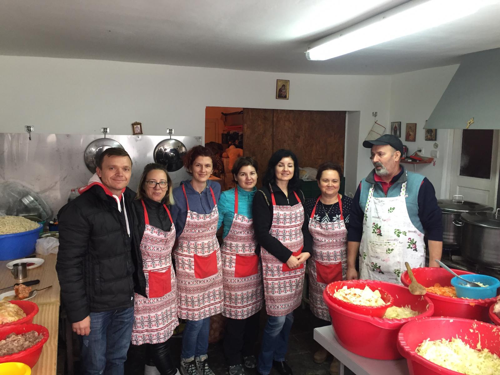 Masa Săracilor Cluj-Napoca și Florești - 22 decembrie 2018