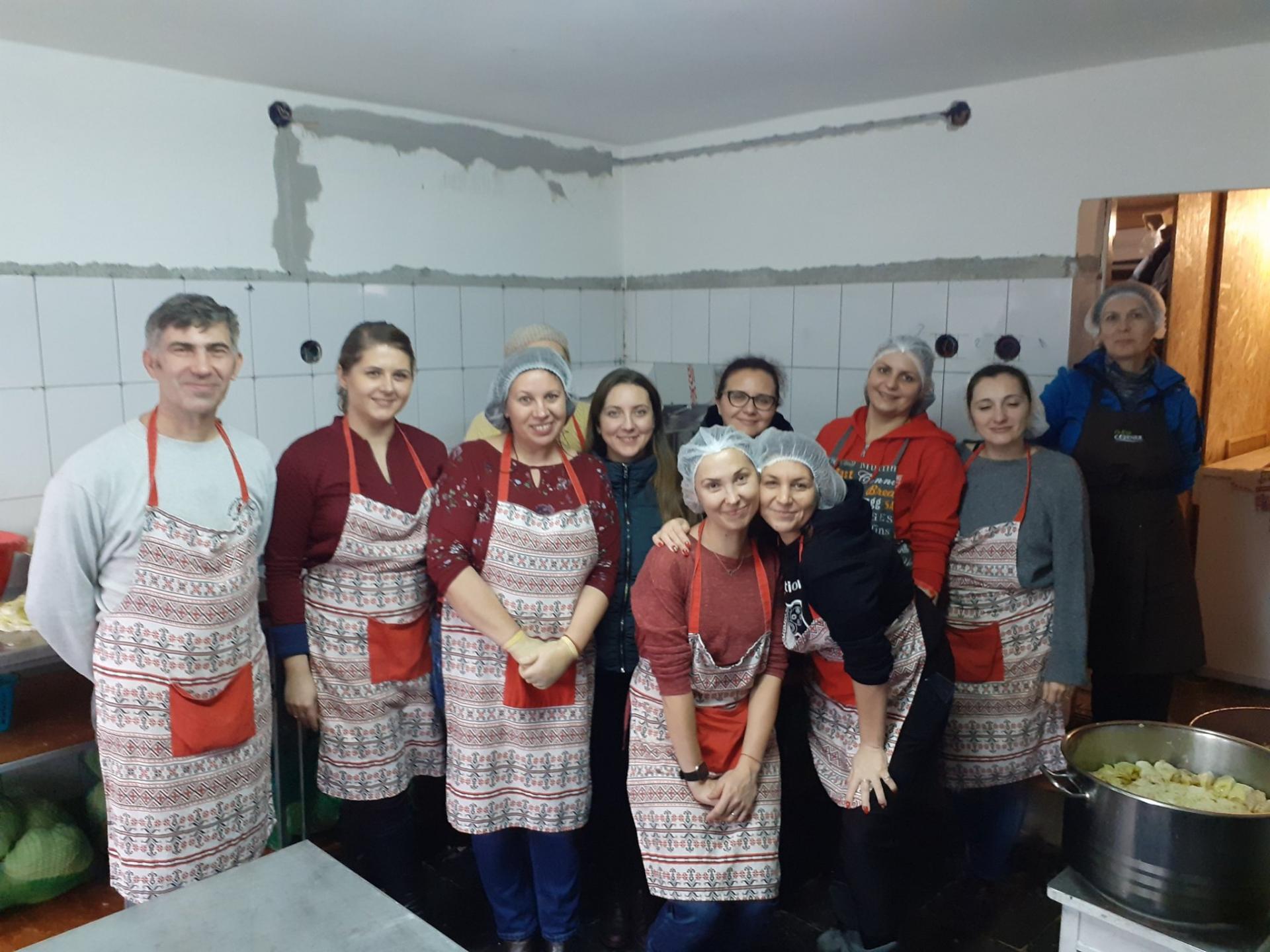 Masa saracilor Cluj-Napoca si Floresti - 19 decembrie 2019