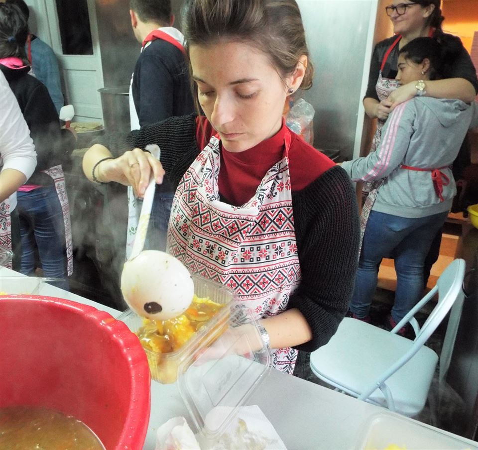 Masa săracilor Cluj-Napoca și Florești - 8 decembrie 2018
